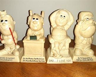 Vintage 1970s Figurines