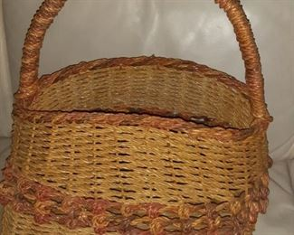 African Hand Woven Bag