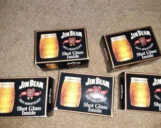 Jim Bean Shot Glasses