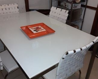Vintage Italian Chairs and Table