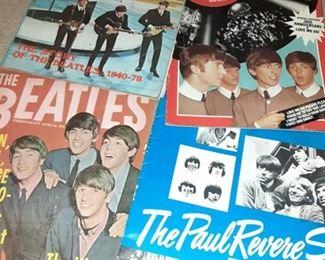 Vintage Fan Beatles Magazines