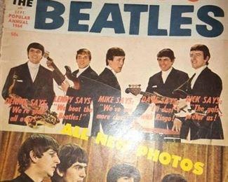 Vintage Dave Clark 5 Vs. The Beatles