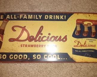 Delicious Strawberry Soda
