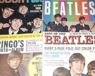 Vintage Beatles Fan Magazines
