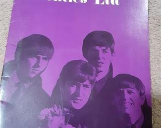 Vintage Beatles Concert Program  Book