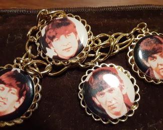 Gold Tone Beatles Bracelet