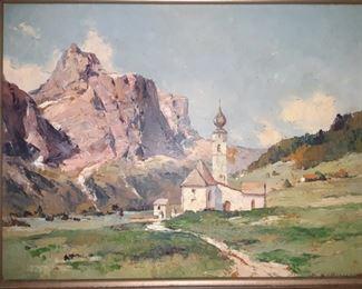 J Kollmar Oil Painting