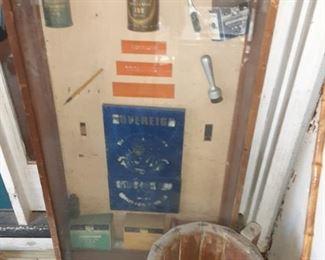 Vintage Salesman Ink Products Display Case