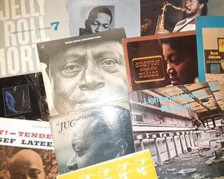 Blues Records Riverside, Prestige Jazz Records