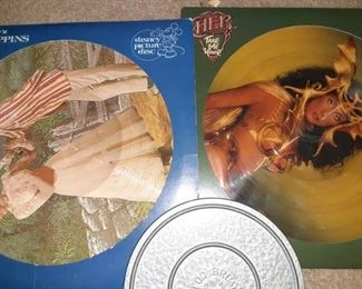 Marry Poppins and Cher Picture Discs