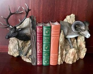 Bronze Bookends by Davies - C. 1999 - 55/500