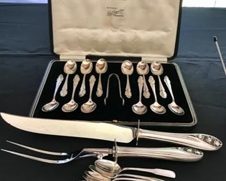 Sterling - Lloyd P. Amiel - Manchester and Sterling Carving Set