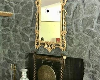 Gong, Large Gilt Mirror and more