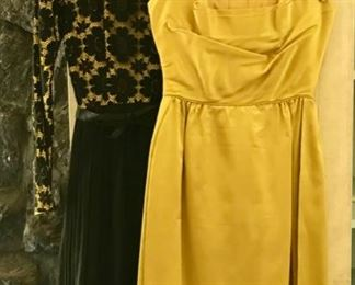 "Vintage 50's , 60's, 70's , 80""s Dresses - Joanne D'arc - Dress on Left"