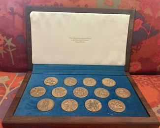 Official Medal Collection of the 13 Original States