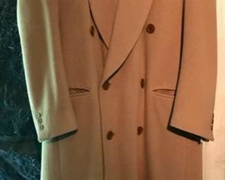 Winter Coat - Giorgio Armani - Selection of Men's Dress Coats - Burberrys Rain Coat with Liner