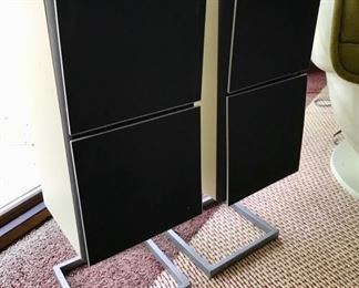 3 pairs of Bang & Olufsen Speakers