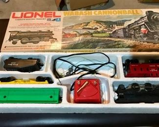 Lionel Train Set and Tracks