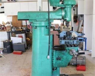 Lot 003  Burke Millrite Milling Machine