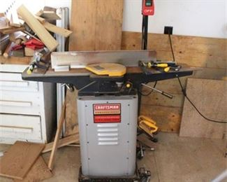 Lot 007  Craftsman Professional 6 - 1/8 in. Jointer / Planer