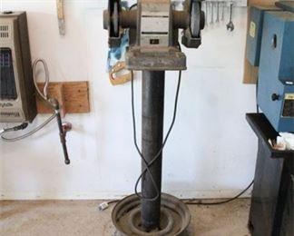 Lot 009  1/3 H.P. Bench Grinder by Craftsman