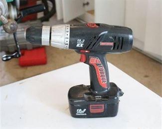 Lot 026  Craftsman 19.2 Volt EX Power Drill