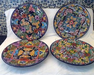 Talavera plates