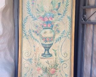 Charming painted board