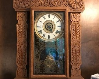 Art Nouveau Mantle Clock