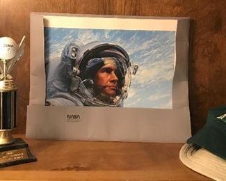 NASA lithograph portfolio