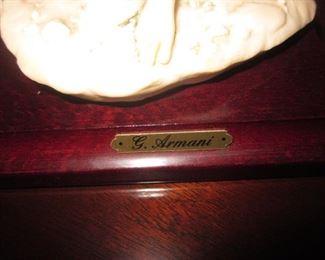 G. Armani Statue Collection
