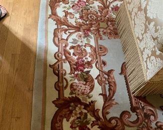 9.5x13.5 wool woven rug