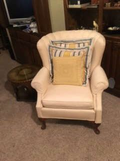 Ivory Colored Chair