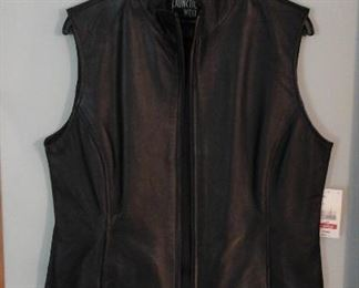 New Junction West leather vest
