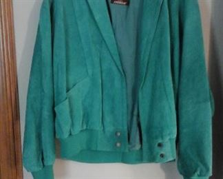 Vintage Jordache suede jacket with tags