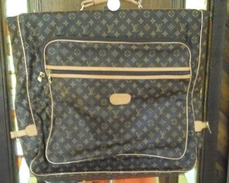 Faux Louis Vuitton travel bag