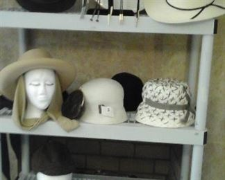 Men's Conner (The down under leather hat). bolo ties, Men's Stetson hat, Elsa Schiaysarelli hat and more.