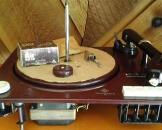 Miracord X A 100 Turntable  (works) made in Germany
