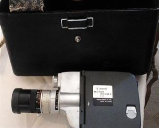Cannon motor zoom 8 EEE movie camera