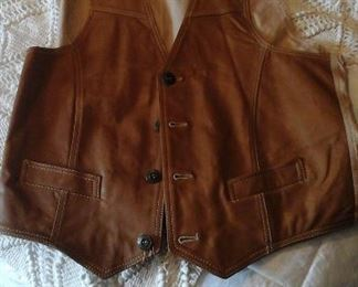 Durkee's Express  leather vest
