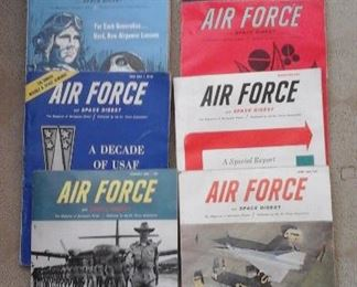 Vintage Air Force and Space Digest