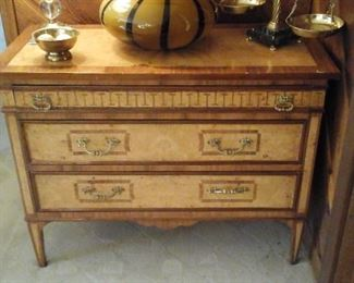 Italian inlaid chest