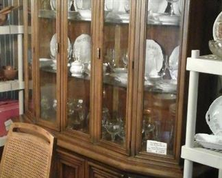 China cabinet by Flair Inc. For Hibriten Furniture Co.