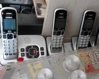 Uniden telephone set