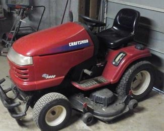 Craftsman mower runs but needs transmission