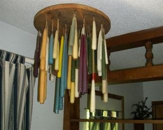 Hanging Candle Display