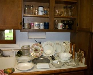 Kitchen Items, Dishes