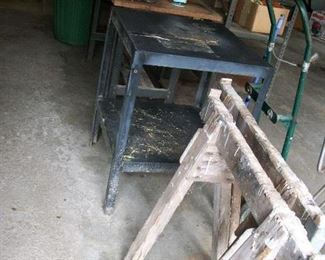 Worktable, Saw Horses