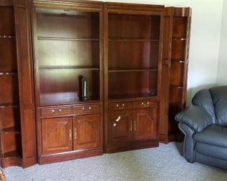 4 pc Wall unit