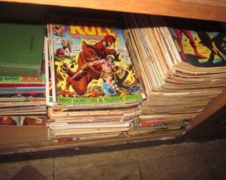 Comic Book Madness 1960's, 70's & 80's